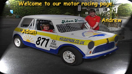 Welcome to our motorsports page